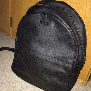 890e7d8a7ef6 ... inexpensive michael kors bags leather michael kors leather backpack men  women 112b3 ad4f5